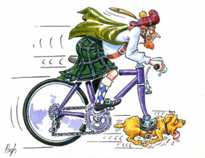 scotsman's bike